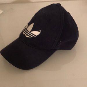 adidas Accessories - Navy adidas dad hat